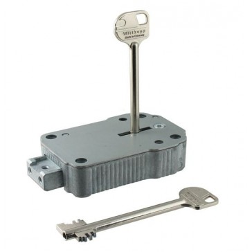 WITTKOPP 2648 8 LEVER SAFE LOCK (SUPPLIED WITH 95MM KEY)