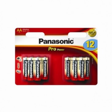 PANASONIC AA BATTERIES (CARD OF 12)
