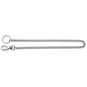 DOG CLIP - SMALL WITH MEDIUM CHAIN (400MM x 8MM)
