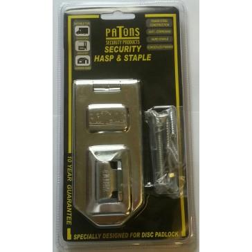 PATON H9 DISCUS PADLOCK HASP 120MM