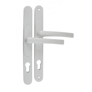 FLEXI UPVC DOOR HANDLE WHITE