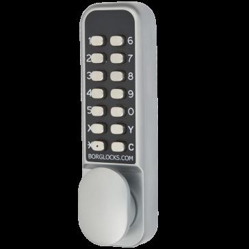 BORG 2201 ECP DIGITAL LOCK, PADDLE HANDLE WITH HOLDBACK & ECP CODING CHAMBER
