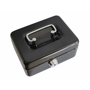 "CATHEDRAL CASH BOX 4"" WITH COIN SLOT"
