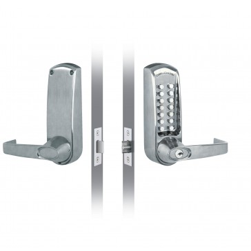 CODELOCK CL610 BS (MORTICE DEAD LATCH)
