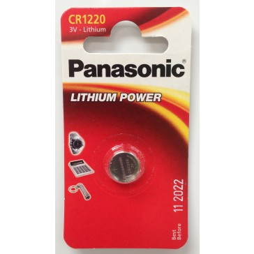 PANASONIC CR1220 BATTERY (SINGLE)