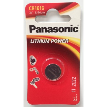 PANASONIC CR1616 BATTERY (SINGLE)