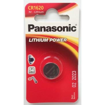 PANASONIC CR1620 BATTERY (SINGLE)