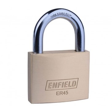 ENFIELD ER BRASS PADLOCKS KEYED ALIKE