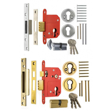 ERA FORTRESS BS8621 EGRESS EURO DEAD / SASH LOCKS