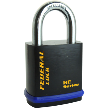 FEDERAL HE PADLOCKS FOR HALF EURO CYLINDER, 406HE - 601HE, 6 SIZES