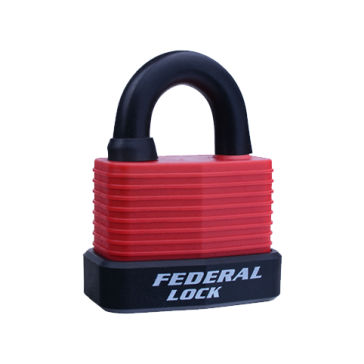 FEDERAL WEATHERPROOF PADLOCK 803WN 55mm ASSORTED COLOURS