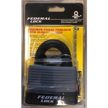 FEDERAL WEATHERPROOF PADLOCK 804WN 70mm