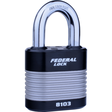 FEDERAL 8103 LAMINATED 50MM PADLOCKS