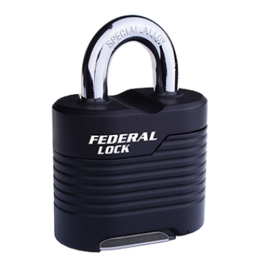 FEDERAL SR WEATHERPROOF EXTRA HEAVY RESETTABLE COMBINATION PADLOCKS