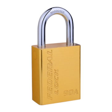 FEDERAL FP4-92A ALUMINIUM L/S PADLOCK 38MM / 50MM SHACKLE