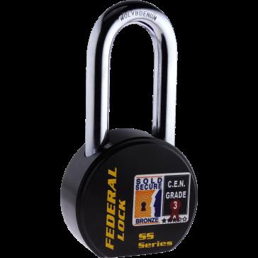 FEDERAL FD903R LS (76MM) PADLOCK 63.5MM - SOLD SECURE BRONZE - CEN3