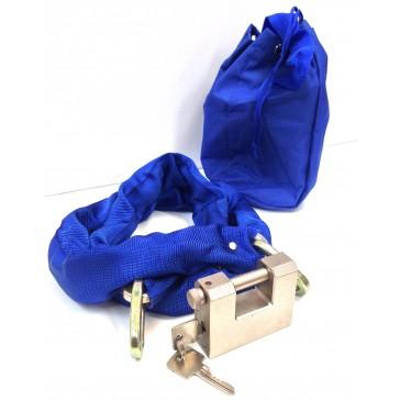 BATON HARDENED PADLOCK AND CHAIN SET IN BAG