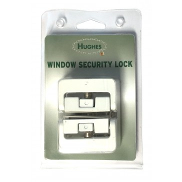 HUGHES HW1819WH CASEMENT WINDOW LOCK (8K101)