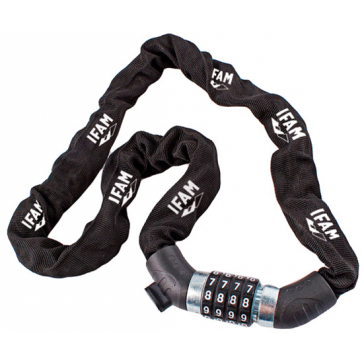 IFAM MILAN CHAIN WITH COMBINATION LOCK