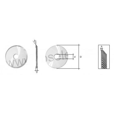 CYLINDER CUTTER (JC002) FOR JAKEY JAGUAR / PUMA KEY MACHINE