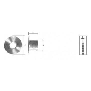 WARD CUTTER (JC016) FOR JAKEY TITAN / ORION MIZAR / KEYOSK MORTICE KEY MACHINE