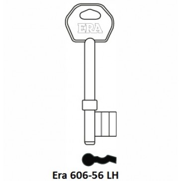 ERA 606-56LH OLD GENUINE 3 LEVER BLANK