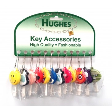 KEY BUDDIES - CARD OF 12 ASSORTED