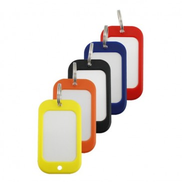 HOTEL TAGS LARGE, BAG OF 30 ASSORTED COLOURS