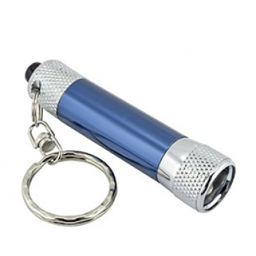 LED TORCH KEY RINGS CARD OF 12 ASSORTED COLOURS