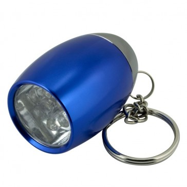 LED TORCH KEY RINGS - ASSORTED COLOURS