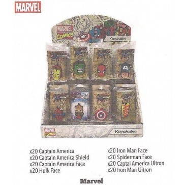 MARVEL PVC KEYRING DISPLAY