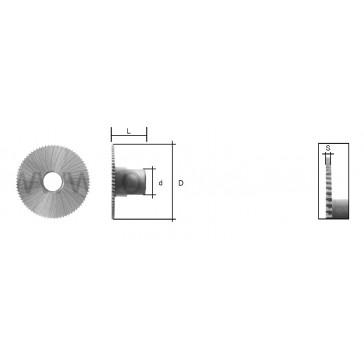 WARD CUTTER (MC001) FOR MANCUNA / RST MORTICE MACHINE
