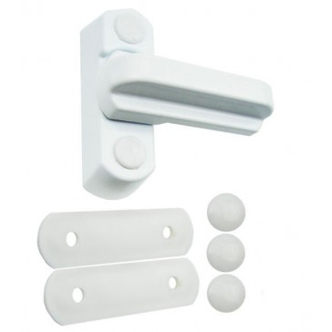 NON LOCKING SASH JAMMER WHITE