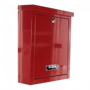 ROTTNER BRIGHTON POST BOX RED