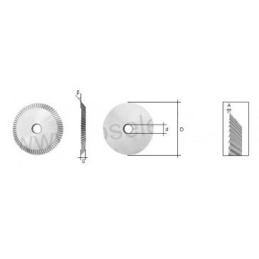 CYLINDER CUTTER (AC003 or CW1012) FOR SILCA REKORD / BRAVO / JMA TITAN MASTER / KEYLINE CARAT / ORION / KEYOSK KEY MACHINE