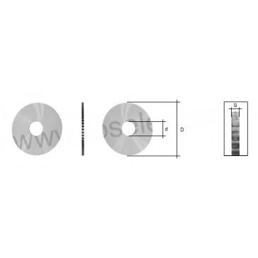 MORTICE CUTTER (SIDE & FACE / SC011) FOR SILCA LANCER MACHINE