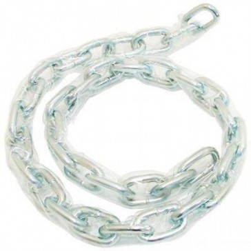 SECURIT ZINC PLATED CLEAR SLEEVED CHAINS