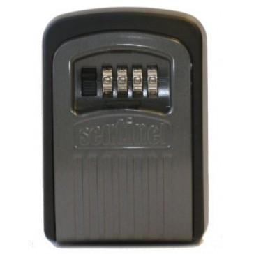 SENTINEL PL968 DIAL LOCK KEY SAFE VISI