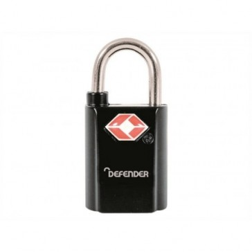 SQUIRE DEFENDER TSA PADLOCK 20mm TWIN PACK