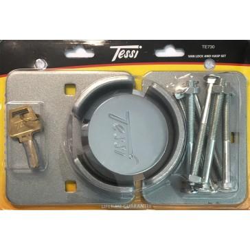 TESSI TE730 HASP & PADLOCK SET