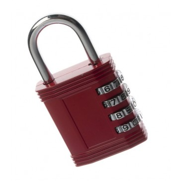 TESSI TEC45 COLOURED COMBI PADLOCKS 45MM