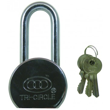 TRI CIRCLE CAMEL TYPE PAD 65MM LONG SHACKLE