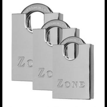 ZONE 100 SERIES CLOSED SHACKLE PADLOCKS