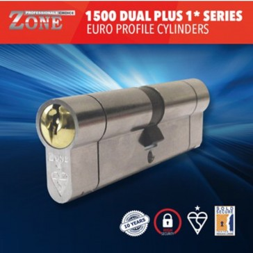 ZONE BS 1* 1500 DUAL PLUS SERIES EURO T/TURN CYLS