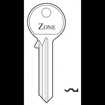 ZONE GC091 GENUINE 6 PIN BLANK
