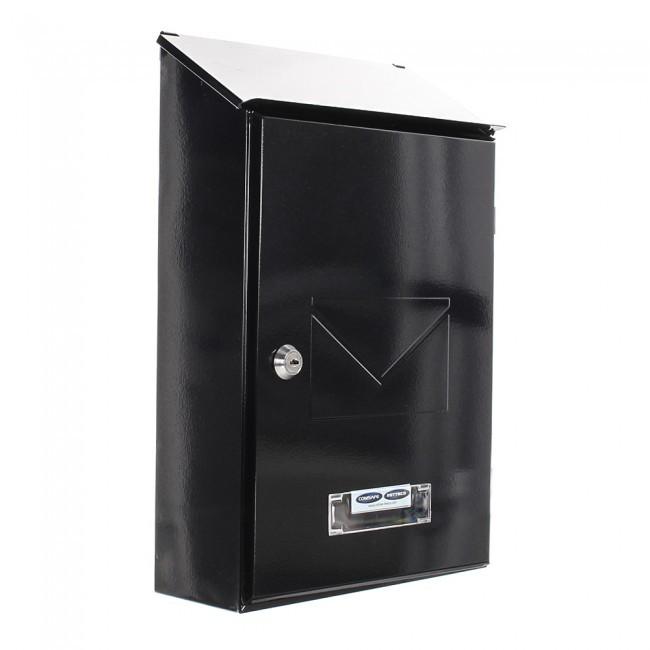 Rottner Pisa Post Boxes White Black Supplies For