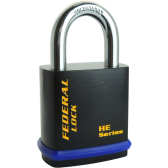 FEDERAL 408HE PADLOCK 46MM - PADLOCK FOR EURO CYLINDER