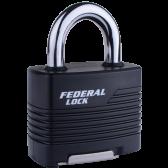 FEDERAL FD803RKW/JR PADLOCK 59MM - RE-KEYABLE LAMINATED PAD