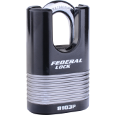 FEDERAL FD8103P C/S PADLOCK 50MM - LAMINATED