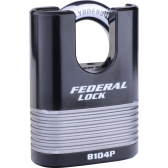 FEDERAL FD8104P C/S PADLOCK 63MM - LAMINATED